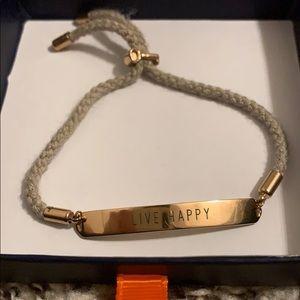 Keep Collective 'live happy' bracelet
